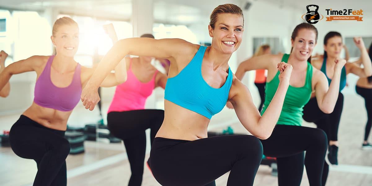 mejores clases colectivas gimnasio en grupo ejercicio entrenamiento efectivas aerobic