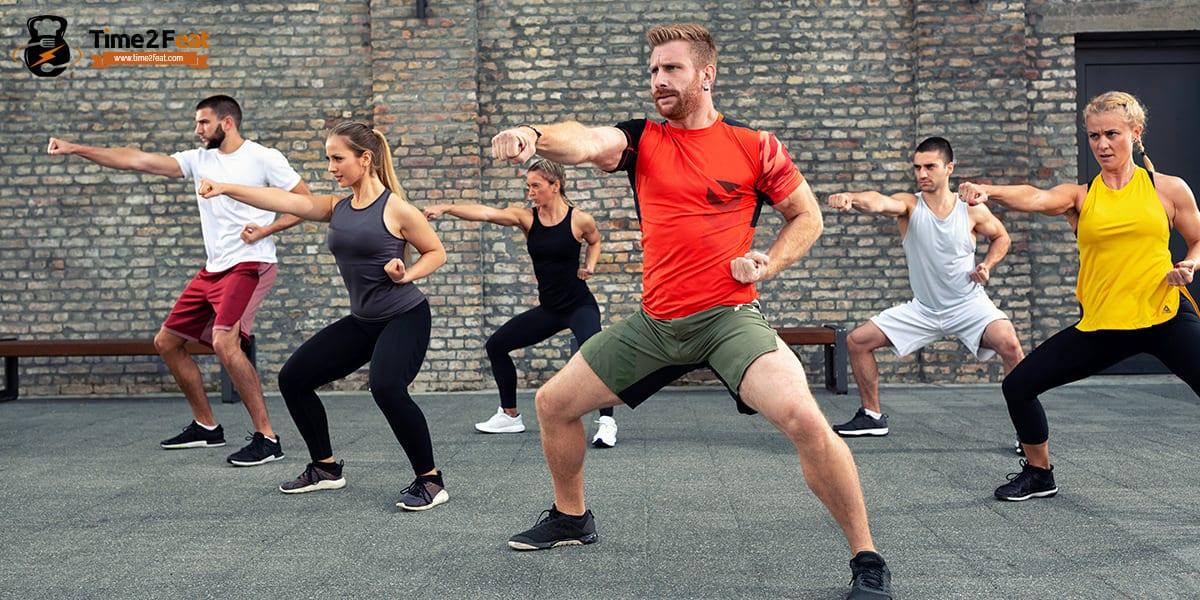 mejores clases colectivas gimnasio en grupo ejercicio entrenamiento efectivas bodycombat
