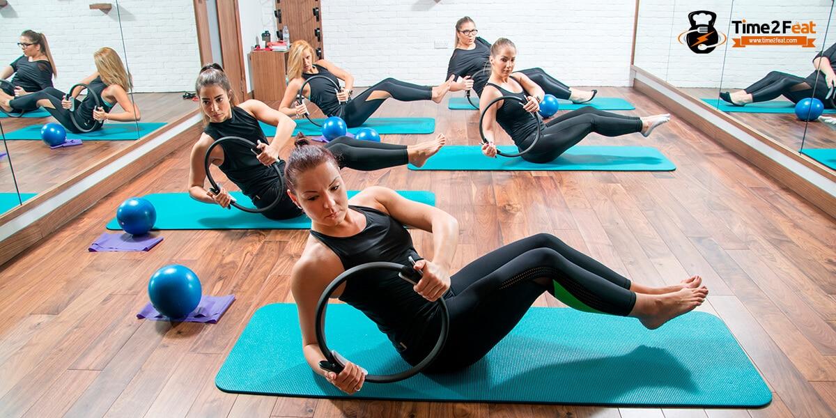 mejores clases colectivas gimnasio en grupo ejercicio entrenamiento efectivas pilates