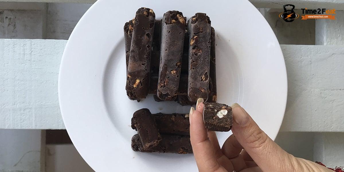 receta barritas energeticas saludables chocolate avellanas sin azucar