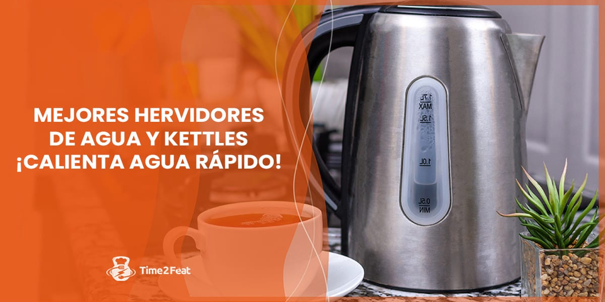 mejores hervidores agua kettle te infusion