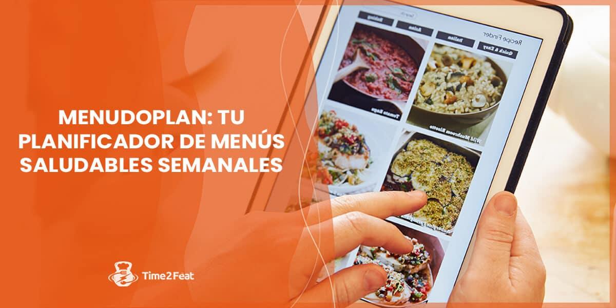 planificador menu semanal saludable dieta menudoplan