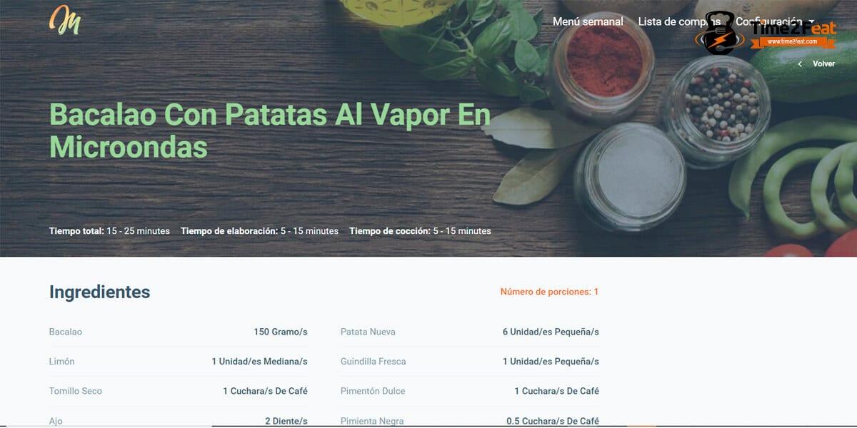 planificador menu semanal saludable menudoplan
